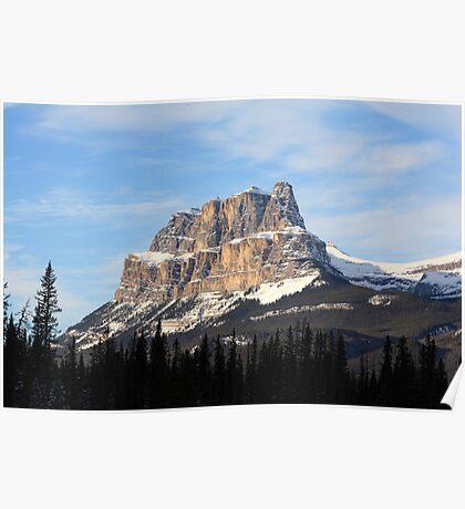 Castle Mountain Poster