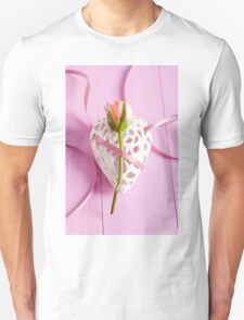 Rose and heart Unisex T-Shirt