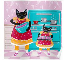 Making Cupcakes with Cats Poster