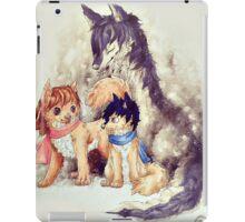 Wolf Children iPad Case/Skin