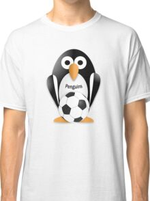 Penguin with soccer ball Classic T-Shirt