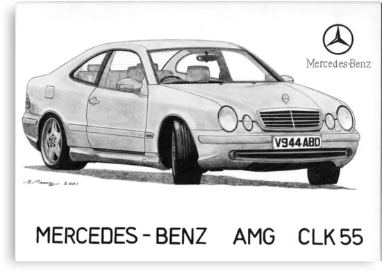 Mercedes AMG CLK55 by Steve Pearcy