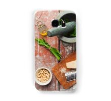 Wild garlic pesto Samsung Galaxy Case/Skin