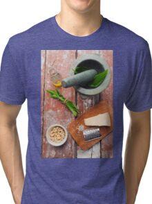 Wild garlic pesto Tri-blend T-Shirt