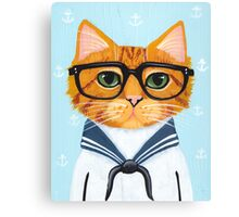The Little Sailor Canvas Print