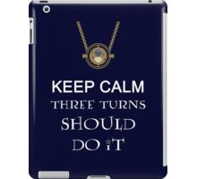 Time-Turner iPad Case/Skin