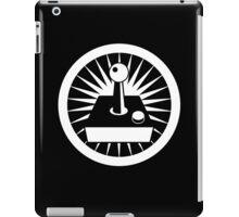 Retro Joystick (White) iPad Case/Skin