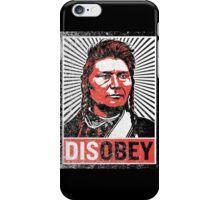 Chief Joseph Disobey iPhone Case/Skin