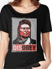 Chief Joseph Disobey Women's Relaxed Fit T-Shirt