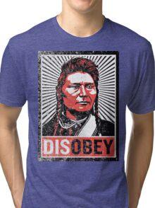 Chief Joseph Disobey Tri-blend T-Shirt