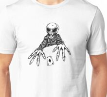 Poker Game With Death Unisex T-Shirt