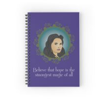 OUAT - Believe In Hope Spiral Notebook