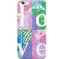 Love is all you need. iPhone Case/Skin
