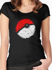 Poké Ball Women's Fitted Scoop T-Shirt
