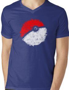 Poké Ball Mens V-Neck T-Shirt