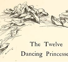 Hansel & Grethel & Other Tales by Grimm Wilelm and Jacob art by Arthur Rackham 0071 Twelve Dancing Princesses by wetdryvac