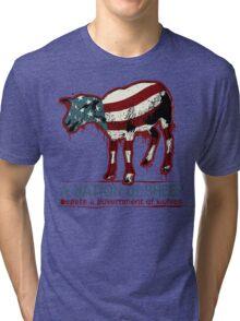 A Nation of Sheep Tri-blend T-Shirt