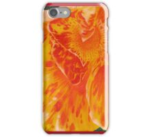 Canna Lily Acrylic Painting iPhone Case/Skin