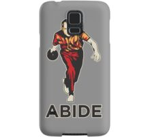 Bowling Nixon Abide  Samsung Galaxy Case/Skin