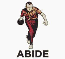 Bowling Nixon Abide  Kids Tee