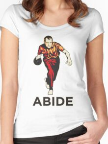 Bowling Nixon Abide  Women's Fitted Scoop T-Shirt