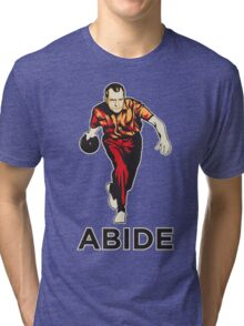 Bowling Nixon Abide  Tri-blend T-Shirt