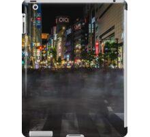 Tokyo Ghosts - Shibuya Crossing Long Exposure iPad Case/Skin