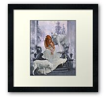Those from White Wood Framed Print