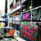 Melbourne Graffiti 2 by Amba