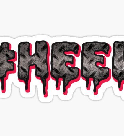 #HEEL - Metal Sticker