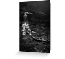 Weeping Rock, Wentworth Falls Greeting Card