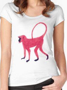 Red Monkey Women's Fitted Scoop T-Shirt