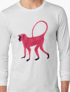 Red Monkey Long Sleeve T-Shirt