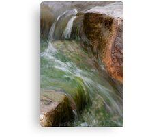 Water Slide Canvas Print
