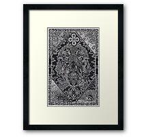 Earthmind, Ink Drawing Framed Print