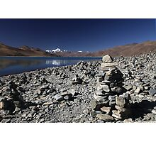 Highest lake in Tibet Photographic Print