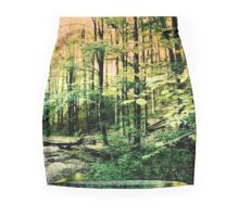 Alone in the forest Mini Skirt