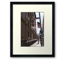 MacDougal Alley Framed Print