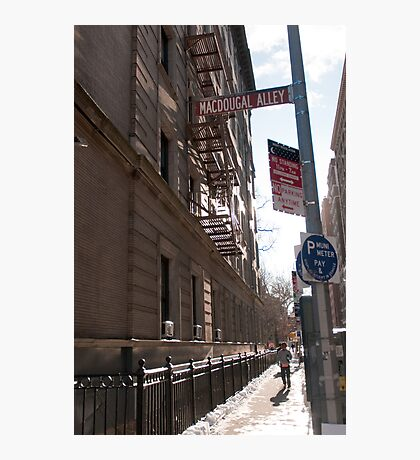 MacDougal Alley Photographic Print