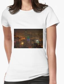 Victoria Peak  Womens Fitted T-Shirt