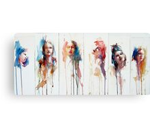 The Changing Face of Now No.2 Canvas Print