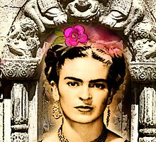 FRIDA ALWAYS LOVED MONKEYS by Frances Perea