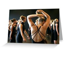 Ballet lessons Greeting Card
