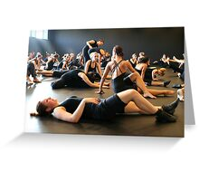 Dance lessons  Greeting Card