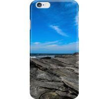 Beach with Rocks iPhone Case/Skin