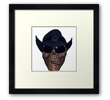 All Hat Framed Print