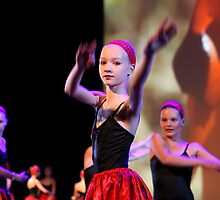Young dancer by Peter Voerman