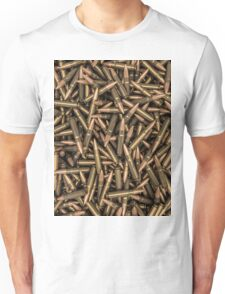 Rifle bullets Unisex T-Shirt
