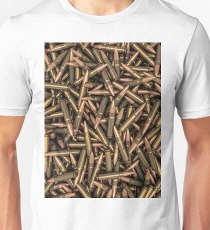 Rifle bullets Unisex T-Shirt