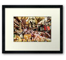 Cheese shop Framed Print